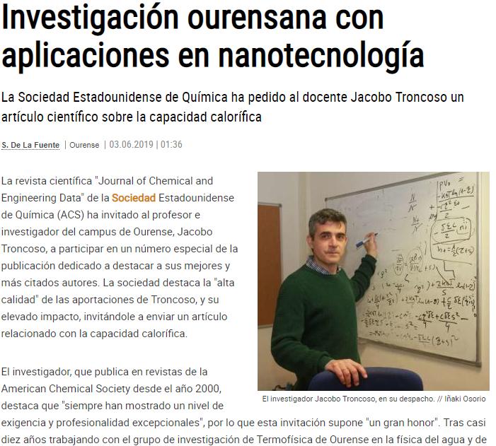 Jacobo Troncoso Fomento Alumni en prensa